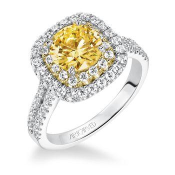 MARIGOLD Artcarved Diamond Engagement Ring - 31-V611-E
