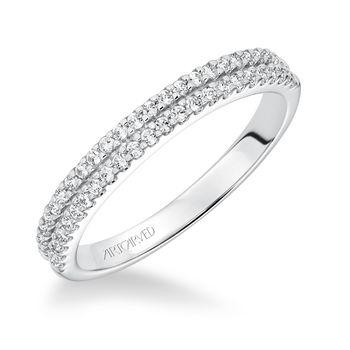 MARIGOLD ArtCarved Diamond Wedding Band - 31-V611-L
