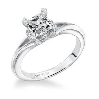 SIENNA Artcarved Diamond Engagement Ring - 31-V616-L