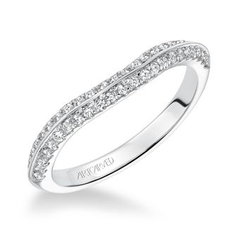 SIENNA Artcarved Matching Diamond Band - 31-V616-L