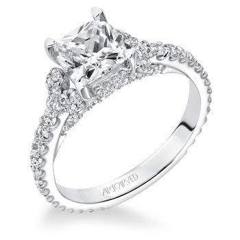 POLLY Artcarved Diamond Engagement Ring - 31-V617-E