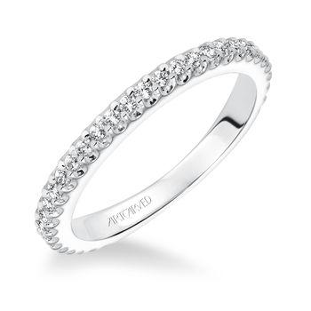 POLLY Artcarved diamond band- 31-V617-L