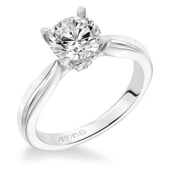 NELLY ArtCarved Engagement Ring - 31-V618-E