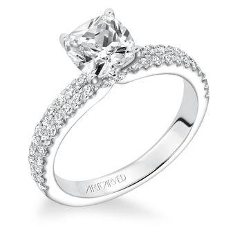 PIPPA Artcarved Diamond Engagement Ring - 31-V619