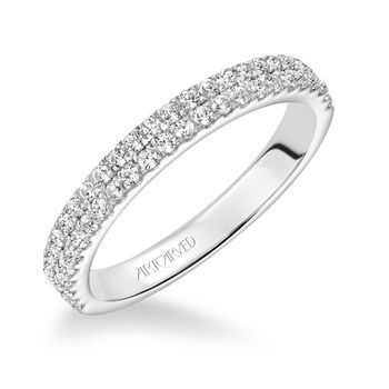 PIPPA Artcarved diamond wedding band - 31-V619-L