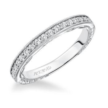 FERM Artcarved diamond wedding band - 31-V621-L