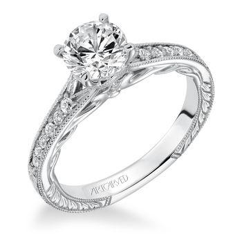 VIOLA ArtCarved Engagement Ring - 31-V623-E
