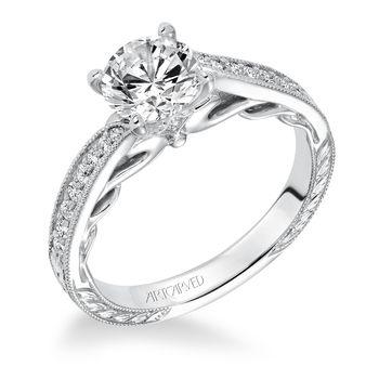 LAVINIA Artcarved Diamond Engagement Ring - 31-V624-E