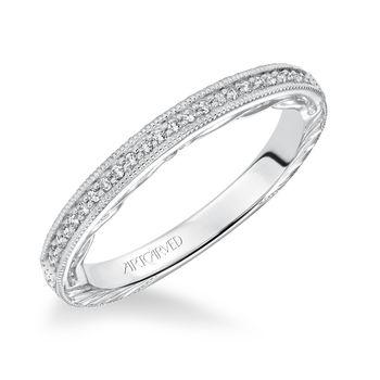 LAVINIA Artcarved Diamond Wedding Band - 31-V624-L