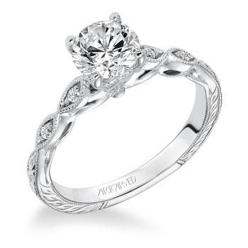 CARALINE Artcarved Engagement Ring - 31-V625-E