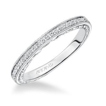 PRIMROSE ArtCarved Matching Diamond Band - 31-V627-L