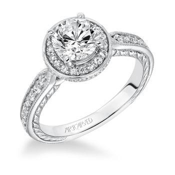 JEMIMA ArtCarved Engagement Ring - 31-V628-E