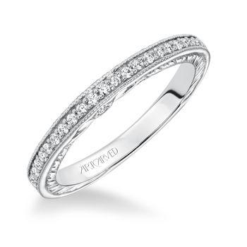 JEMIMA ArtCarved Diamond Wedding Band - 31-V628-L