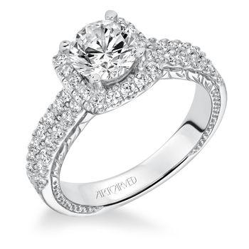 EUGENIE ArtCarved Engagement Ring