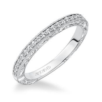 WINSLET ArtCarved Matching Diamond Band - 31-V637-E