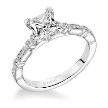 MARGUERITE ArtCarved Engagement Ring - 31-V641-E