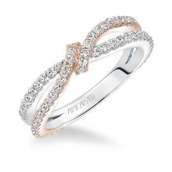 ARTCARVED Knotted Anniversary Diamond Band - 33-V9140-L