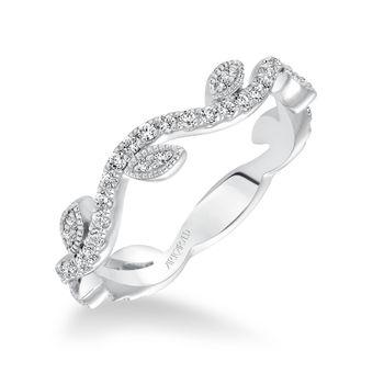 LEAF & VINE Diamond Anniversary Ring by ArtCarved - 33-V9137-L
