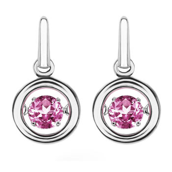 Rhythm of Love Pink Tourmaline Earrings