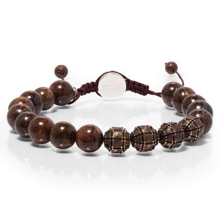 TRITON Bronze Bead Bracelet