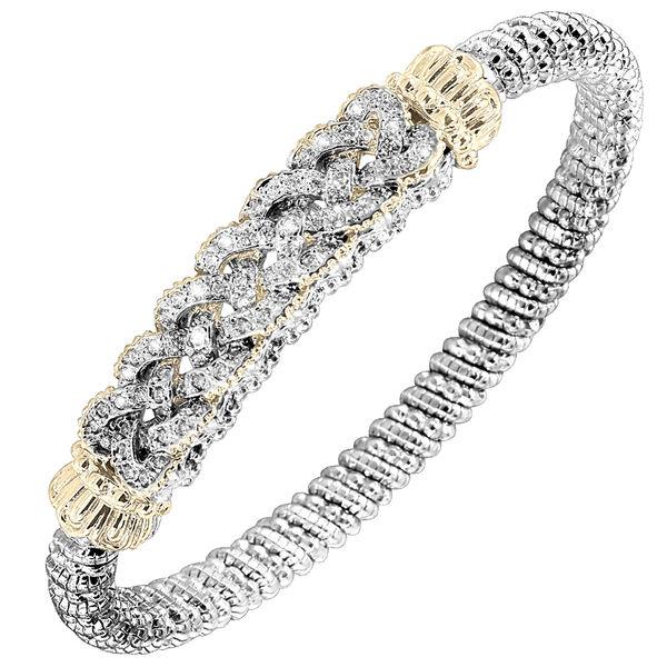 Diamond Braid Bracelet by Alwand Vahan - Style Number 21988