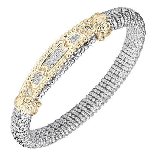 Alwand Vahan 8mm Diamond Bangle Bracelet - Vahan Style # 22053