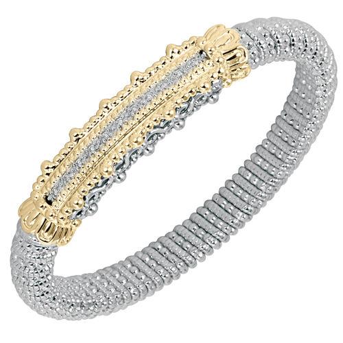 8mm wide Alwand Vahan Diamond Bracelet - Style number 22179