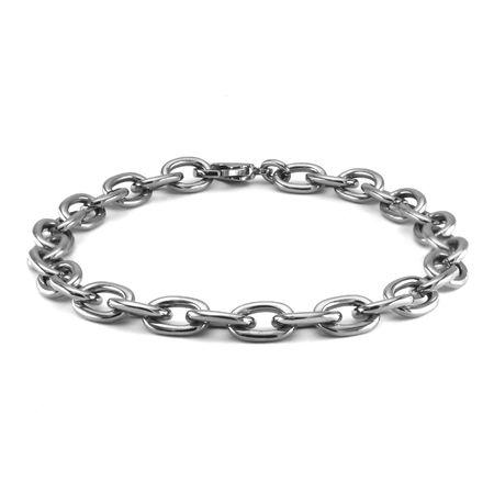 Titanium Large Rolo Bracelet