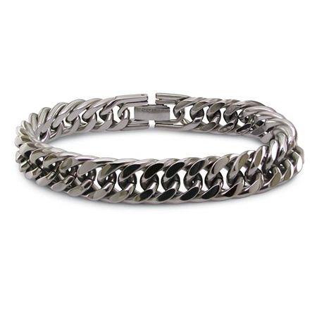Titanium Curb Link Bracelet