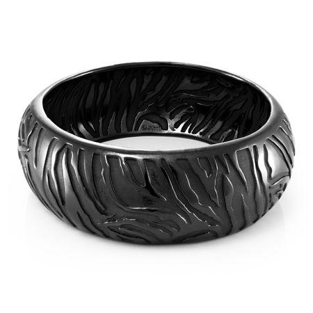 SAFARI Black Titanium Wide Bangle