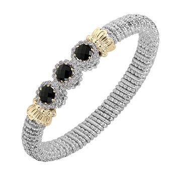 Alwand Vahan Black Onyx & Diamond Bracelet -Gorgeous!