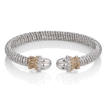 Vahan Sterling & 14K Gold Shell Tips Bracelet