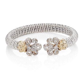 Alwand Vahan Bracelet Fleur De Lis Diamonds 14k Gold