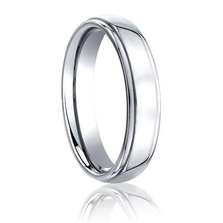 Cobalt Wedding Band   5mm Classic Cobalt Wedding Band Benchmark Unisex Cobalt Ring