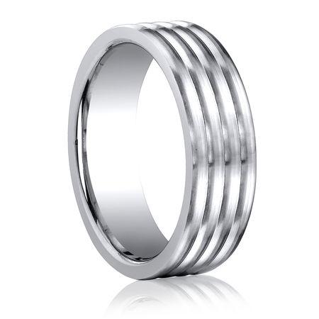 BENCHMARK Mens Cobalt  Ring