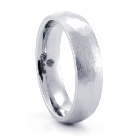TALEN Cobalt Chrome Ring by Heavy Stone Rings