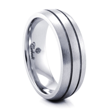 HADEN Cobalt Chrome Ring by Heavy Stone Rings