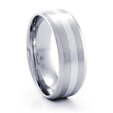ZANDER Cobalt Chrome Ring by Heavy Stone Rings