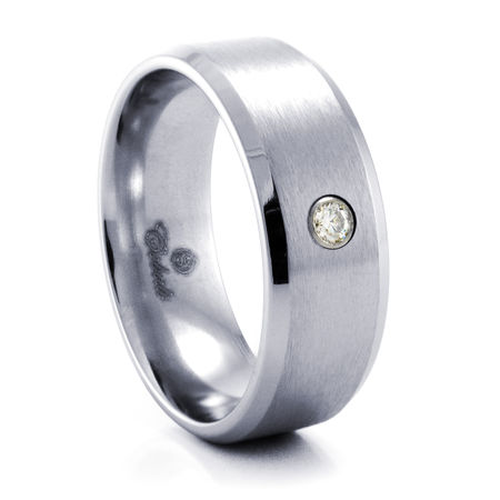 PENLEY Cobalt Chrome Ring by Heavy Stone Rings