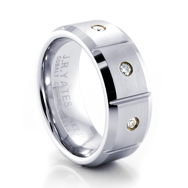 MIDAS Cobalt Diamond Ring by J.R. Yates