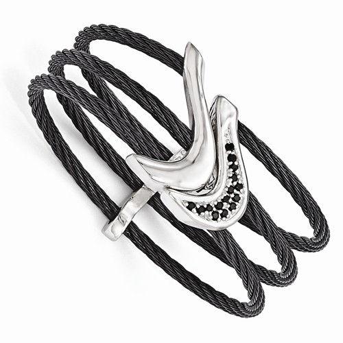 Edward Mirell Black Titanium Bracelet