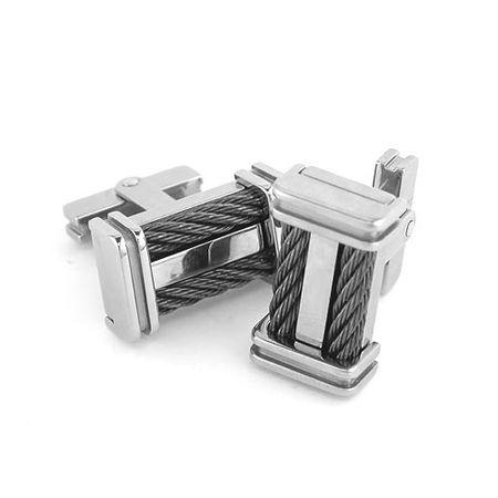 EM Cable Cufflinks