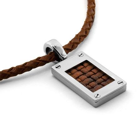 Edward Mirell Leather Necklace