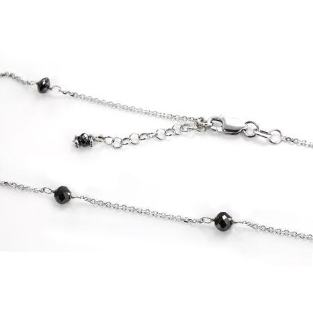 Black Diamond Tin Cup Necklace by belloria