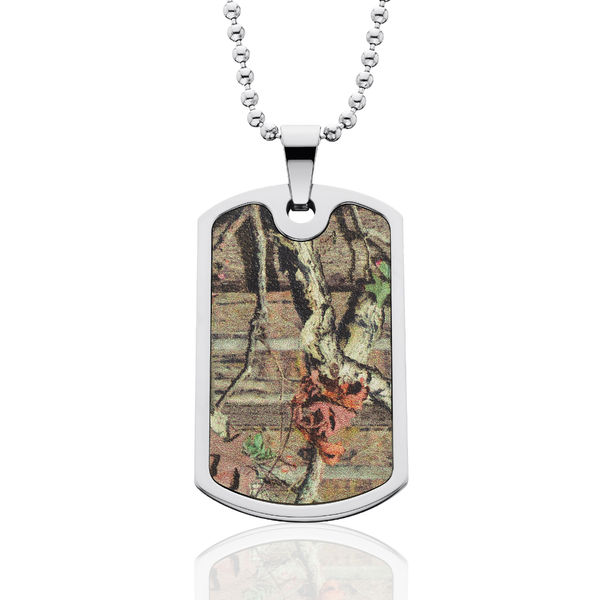 Realtree Camo Dog Tag Necklace