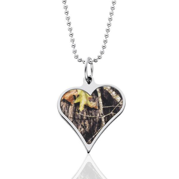 Realtree Camo Heart Necklace