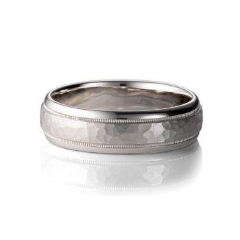 ArtCarved Palladium Wedding Band - PARRISH Palladium Wedding Ring