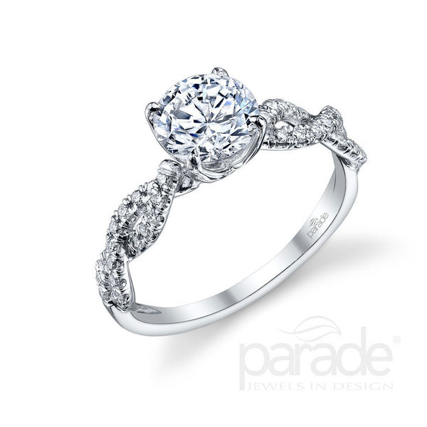Diamond Infinity Engagement Ring by Parade