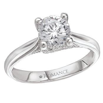 White Gold - Engagement Ring - Modesto