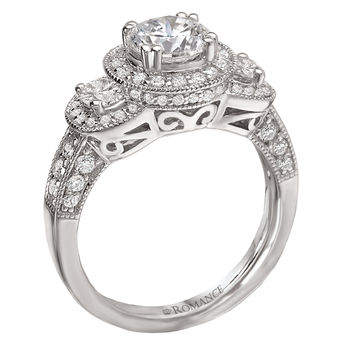 Antique Style - Engagement Ring - Modesto